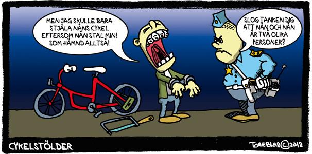 Cykelstölder