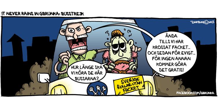 Busstrejk (Ej publicerad)