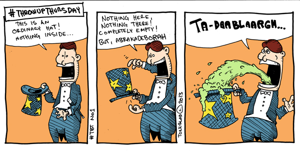 Throwup Thursday (ej publicerad)