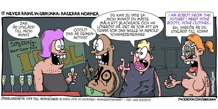 Raserar Normer