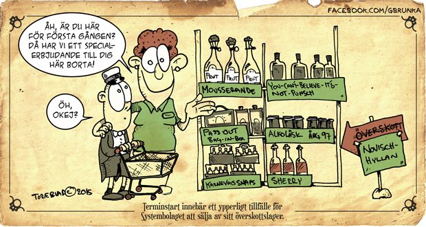 Systembolagets Lagerrensning